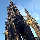Scott Monument, Edinburgh by Robert Steadman