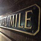 Royal Mile, Edinburgh by Robert Steadman