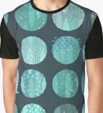 Celestial Bodies - Midnight Graphic T-Shirt