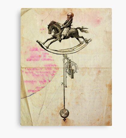 VARIACIONES PARA UN PENDULO (version 1) (variations for a pendulum) Canvas Print