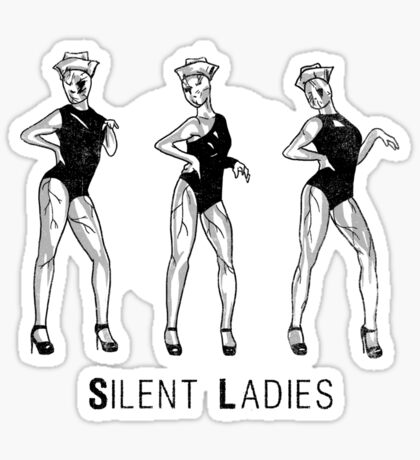 Silent Ladies Sticker