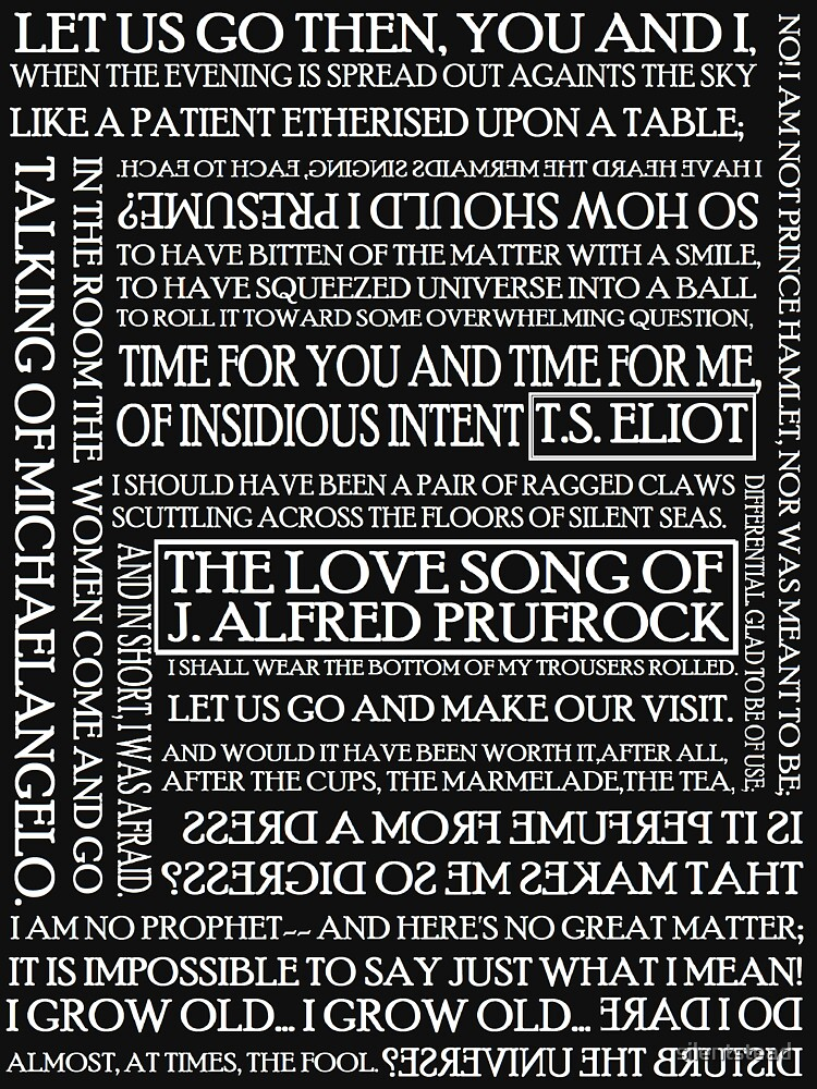 essays on the love song of j alfred prufrock
