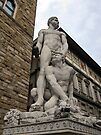 Hercules and Cacus, Florence, Italy by David Carton