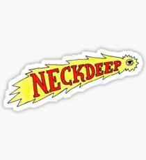 f*ck neck deep mate Sticker