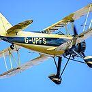 Waco UPS-7 biplane by Mark Baldwyn