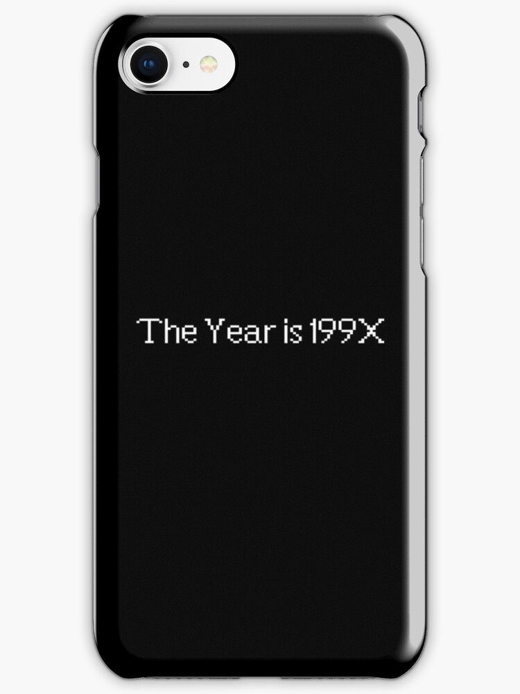 The year is 199X by Studio Momo ╰༼ ಠ益ಠ ༽
