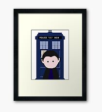 The 9th Doctor Framed Print