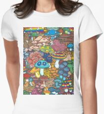 Mycology Womens Fitted T-Shirt
