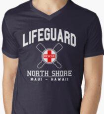 Lifeguard - North Shore - MAUI, Hawaii  Men's V-Neck T-Shirt