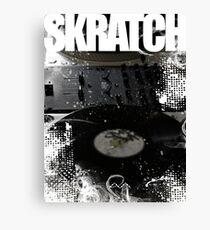Skratch 1 Canvas Print
