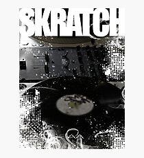 Skratch 1 Photographic Print