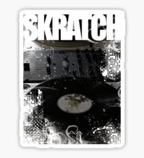 Skratch 1 Sticker