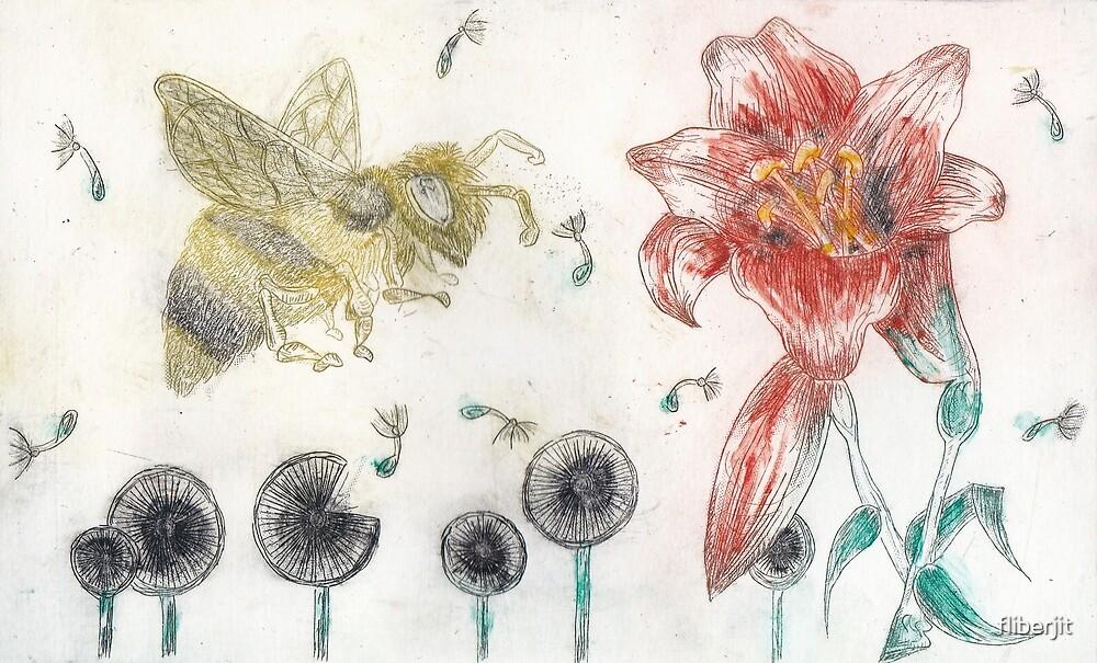 Bee Happy 1 by fliberjit
