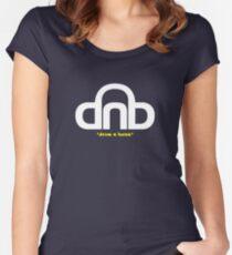 DNB (Drum N Bass) V2 (alt) Women's Fitted Scoop T-Shirt