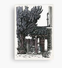 South Korea : Gyeongju Guesthouse Canvas Print