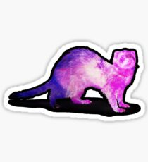 Space Ferret Sticker