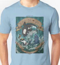 Swimming Anime T-Shirt