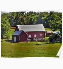 Farm In Virginia Poster