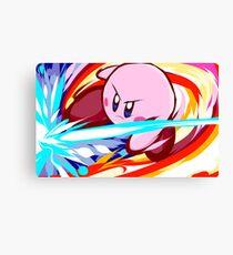 Kirby | Vulcan Kick Canvas Print