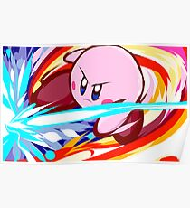 Kirby | Vulcan Kick Poster