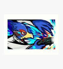 Falco   Blaster Shot Art Print