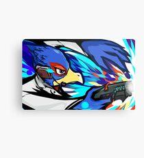 Falco | Blaster Shot Metal Print