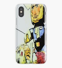 Han solo saves the girl iPhone Case/Skin