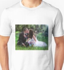 Smith Wedding Portrait T-Shirt