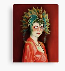 Kim Cattrall in Big Trouble In Little China Canvas Print