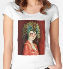 Kim Cattrall in Big Trouble In Little China Women's Fitted Scoop T-Shirt