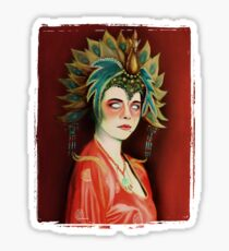 Kim Cattrall in Big Trouble In Little China Sticker