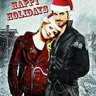 Captain Swan Christmas Card 3 by Marianne Paluso