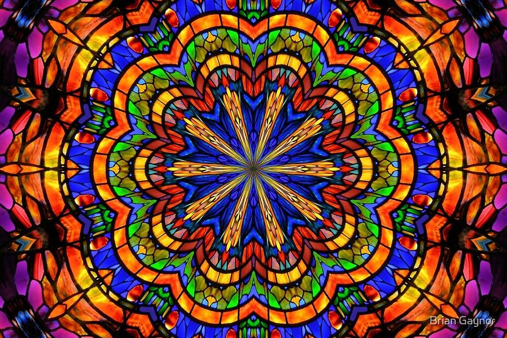 Mandala Kaleidoscope by Brian Gaynor