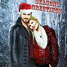 Captain Swan Christmas Card 4 by Marianne Paluso