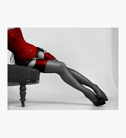 Sheer legs Photographic Print