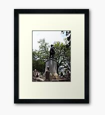 Historical Landmark Aristic Photograph by Shannon Sears Framed Print