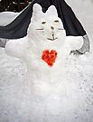 Snow Kitty by FrankieCat