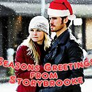 Captain Swan Christmas Card 6 by Marianne Paluso