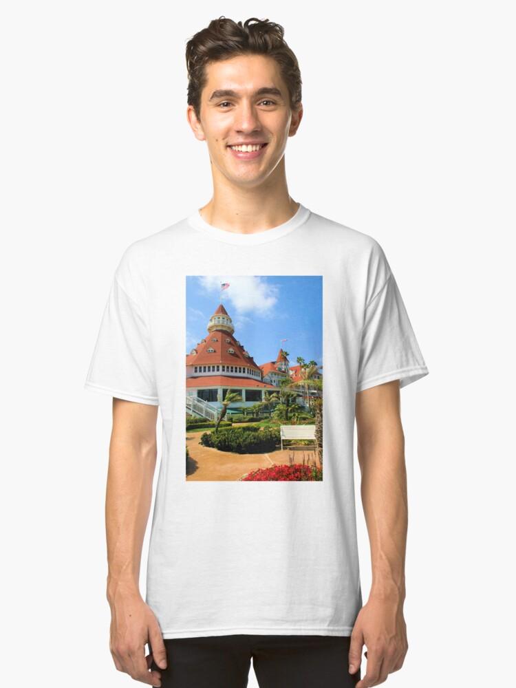 Hotel Del Coronado Front Classic T-Shirt Front