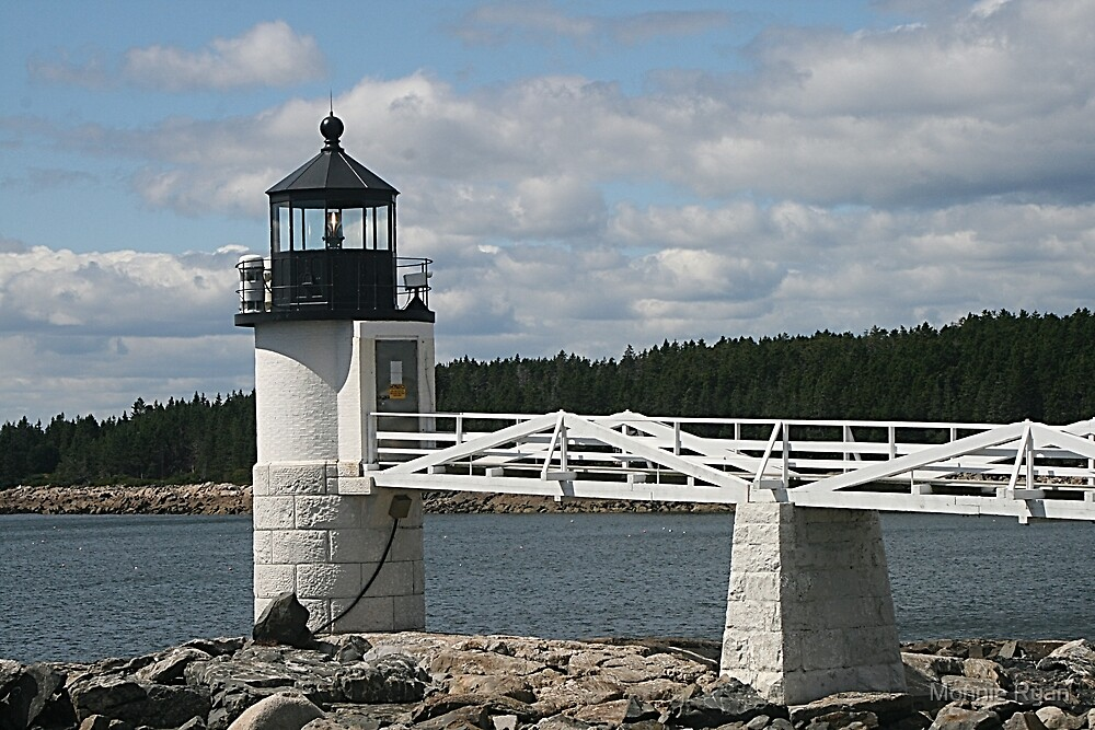 Marshall Point Lighthouse by Monnie Ryan