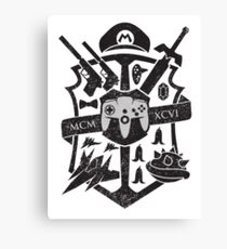 House of 64 Crest Canvas Print