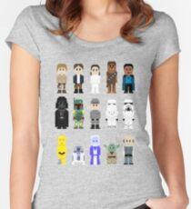 8-Bit ESB Women's Fitted Scoop T-Shirt
