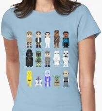 8-Bit ESB Womens Fitted T-Shirt
