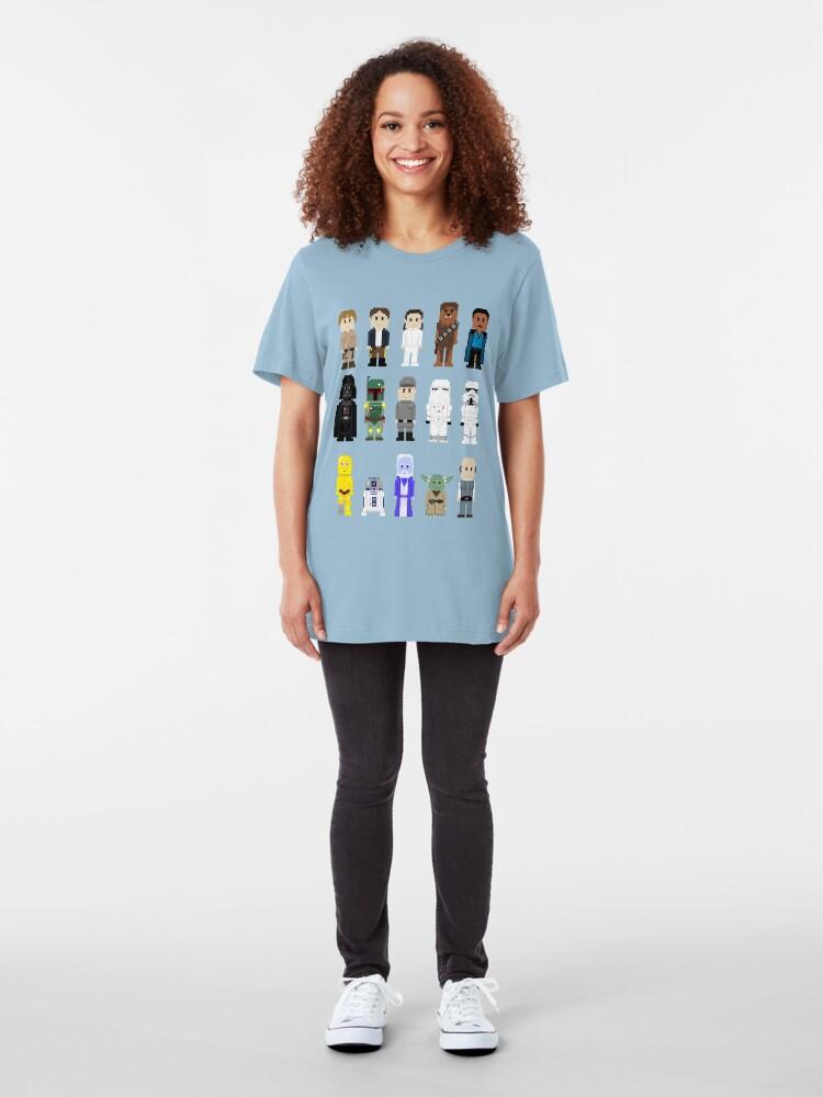 Alternate view of 8-Bit ESB Slim Fit T-Shirt