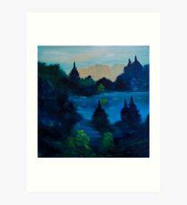 Auburn Lake Art Print