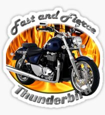 Triumph Thunderbird Fast and Fierce Sticker