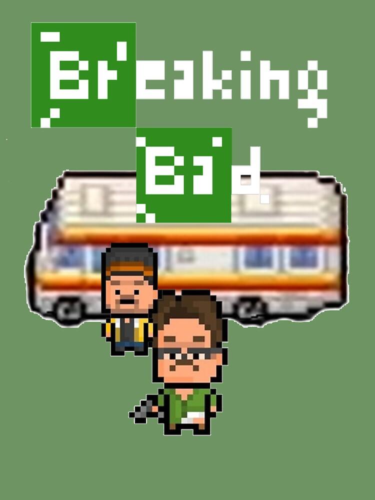 Pixels Breaking Bad by ramox90