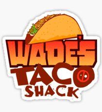 Wade's Taco Shack Sticker