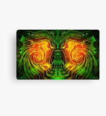 Spinach Rolled Canvas Print
