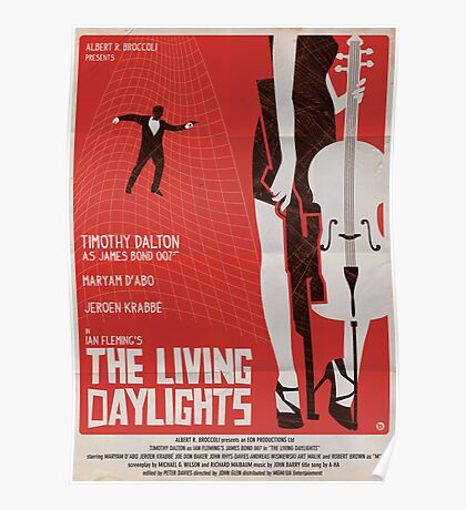 The Living Daylights Poster